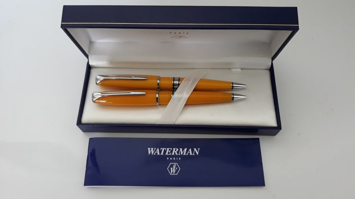 Waterman - set of Waterman ballpen & pencil - Complete collection of 2