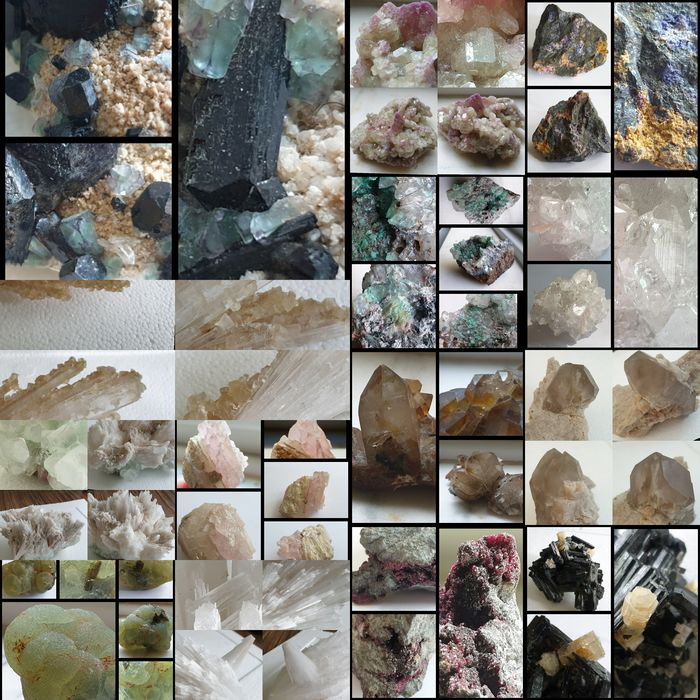 Mineral Collection - 1,9 kg - (14)