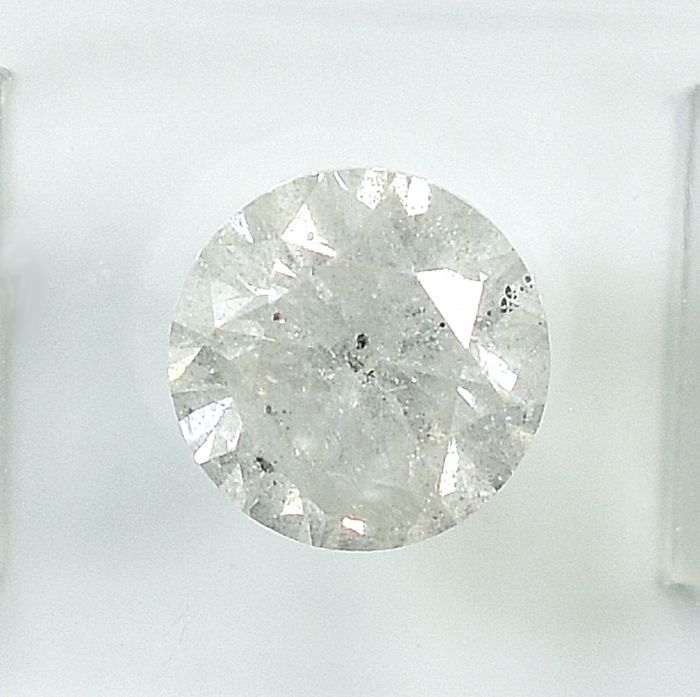 Diamant - 1.58 ct - Brillant - I - I3 - NO RESERVE PRICE