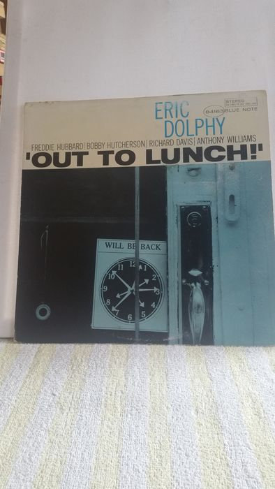 Eric Dolphy - Out To Lunch - LP Album - 1978