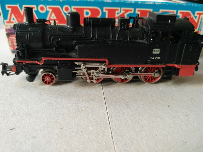 Märklin H0 - 3095 - Steam locomotive - BR 74 - DB