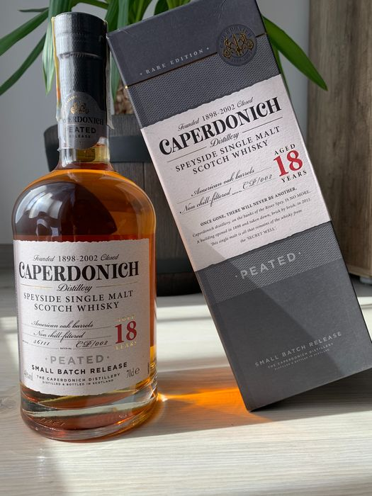 Caperdonich 18 years old Peated Small Batch Release - Original bottling - 700ml