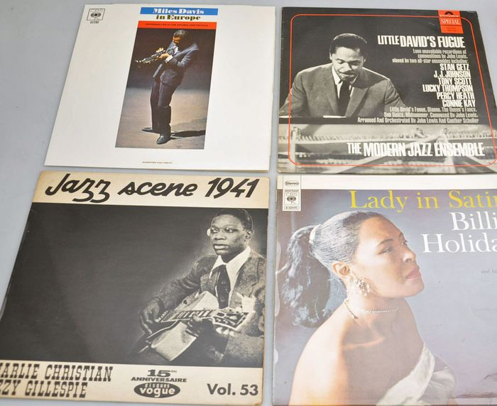 Billie Holiday - Miles Davis - Charlie Chistian - Multiple titles - LP Album - 1964/1969