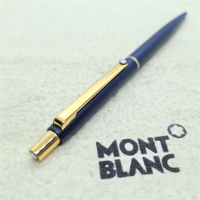 Montblanc - S-Line ballpoint pen - Ref. 2918 - 1990's - Blue and gold body