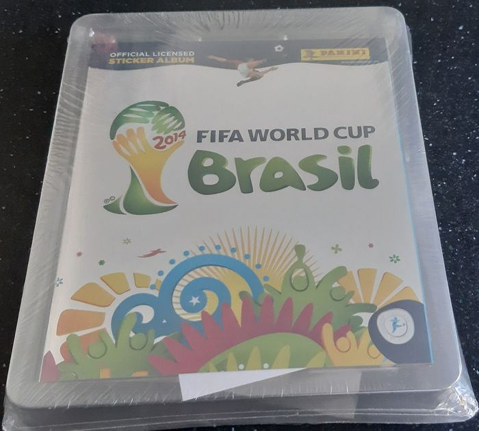 Panini - World Cup Brasil 2014 - Fabriekszegel (leeg album + complete losse stickerset) - 2014