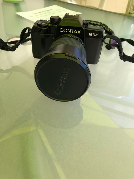 Contax 167 MT +  Carl Zeiss Vario Sonnar 28-85mm F/3.3-4.0 MM *T