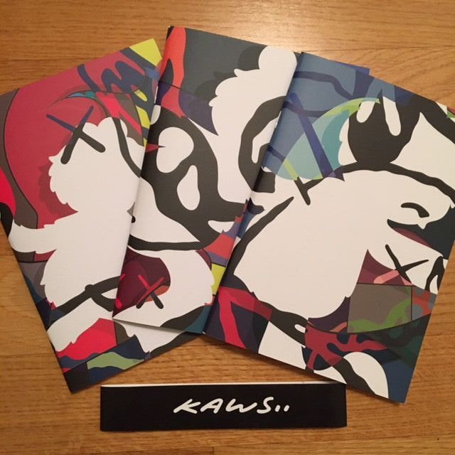 Kaws - YSP Notebook Set - 2016