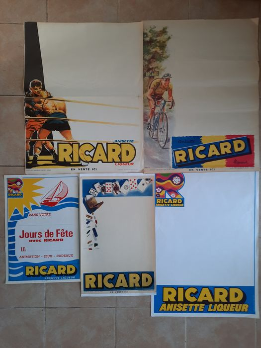 G. Potier - Affiches Ricard (x6)