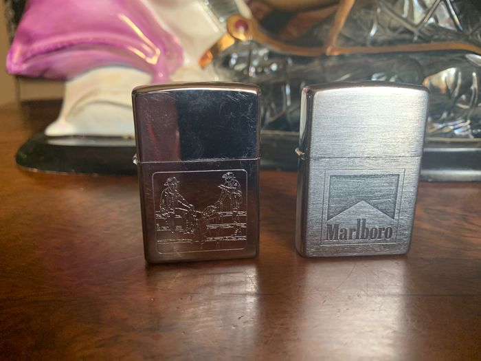 Zippo - Pocket lighter - Collection of 2