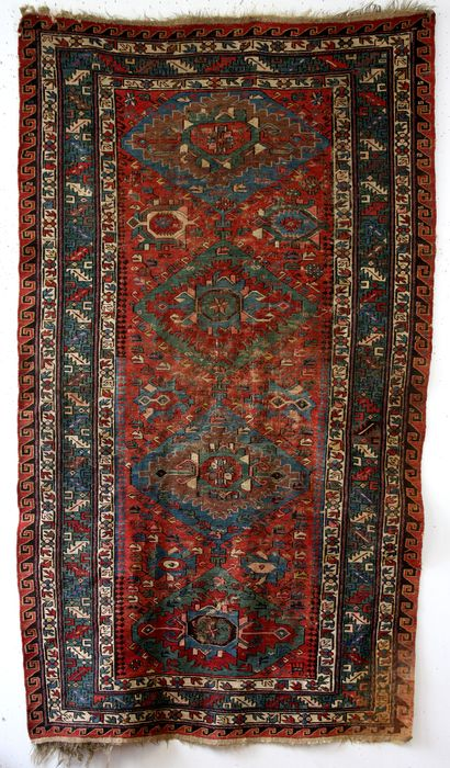 Konaghend - Soumack, kind of kilim - 220 cm - 122 cm