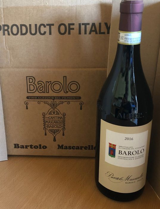 2016 Bartolo Mascarello - Barolo DOCG - 1 Bottle (0.75L)