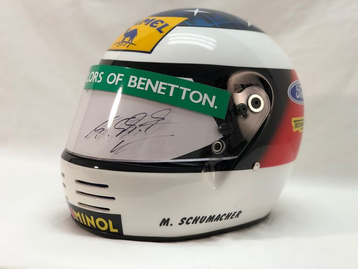 Benetton - Formula Uno - Michael Schumacher - 1993 - Casco replica