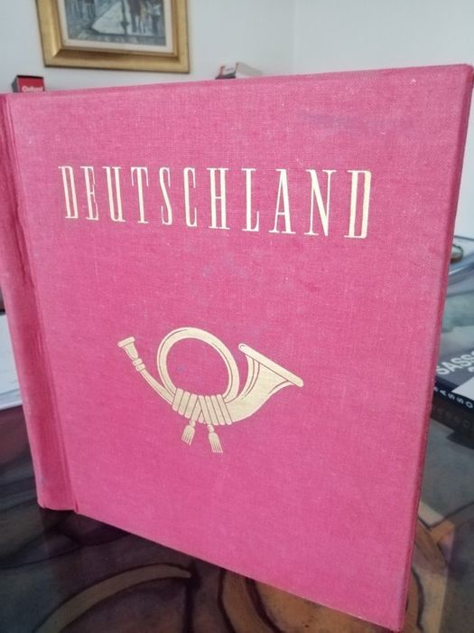 Deutschland Antike Staaten Kolonien und Besetzungen 1850/1920 - Album with Germany, old states, colonies and occupations, new and used