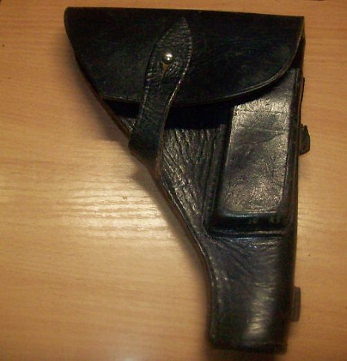ZSSR-RUSSIA - Leather holster from the Soviet military pistol TT. - Holster - Pistola ad aria compressa