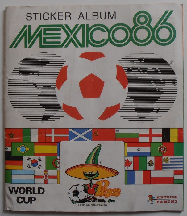 Panini - World Cup Mexico 86 - Compleet album - 1986
