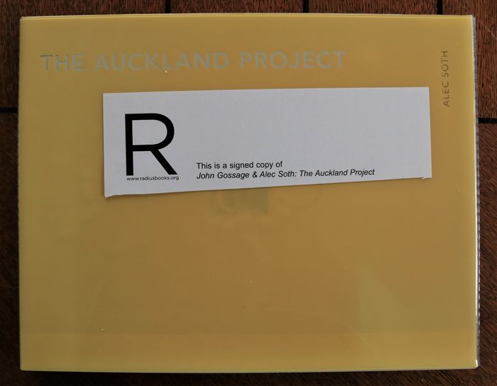 Signed: John Gossage & Alec Soth - The Auckland Project - 2011