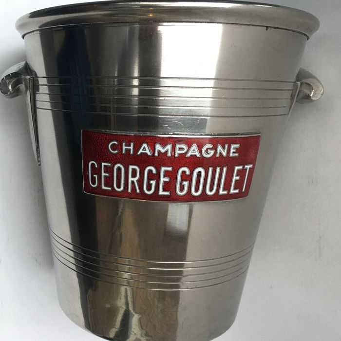 GEORGE GOULET / ANDRÉ LEROY - Champagne cooler Champagne Bucket Cooler Bucket cooler Seau