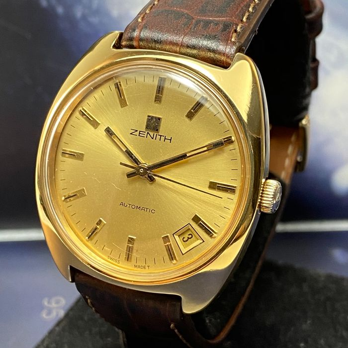 "Zenith - Vintage Automatic - ""NO RESERVE PRICE"" - 20-1290-290 - Men - 1970-1979"