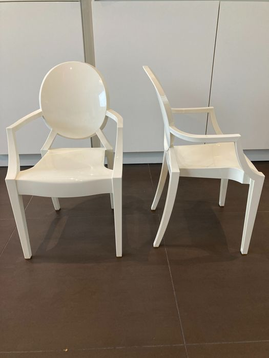 Philippe Starck - Kartell - Chair (2) - Lou Lou Ghost