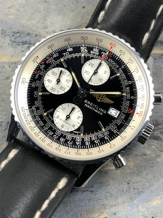 Breitling - Old Navitimer II Chronograph Automatic - A13022.1 - Herren - 1990-1999