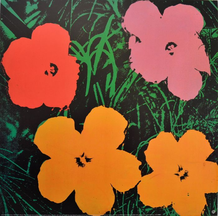 Andy Warhol (after) - Flowers