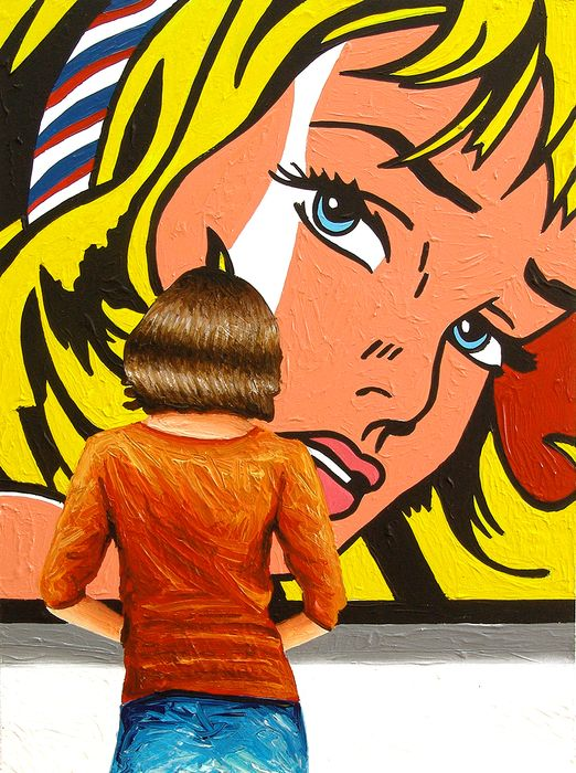 Gerard Boersma - Girl With Hair Ribbon (Roy Lichtenstein)