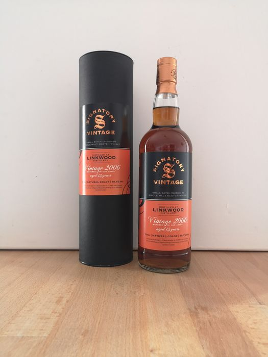 Linkwood 2006 13 years old Small Batch Edition #9  Refill Hogshead + Sherry Butt Finish - Signatory Vintage - b. 2020 - 70cl - 1 bottles