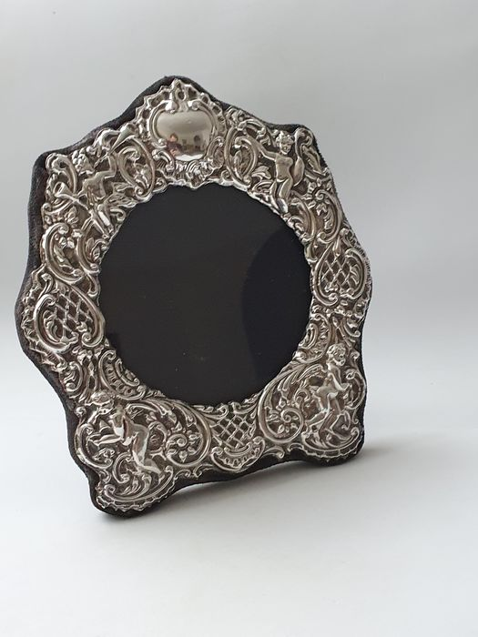 Silver photo frame - .925 silver - Keyford Frames , London - U.K. - 1986