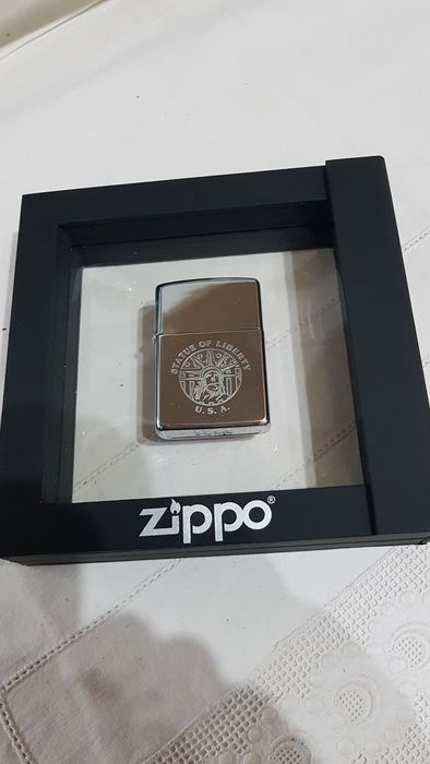 Zippo - Statue of Liberty rare collector Zippo from 1993 - Set of 1