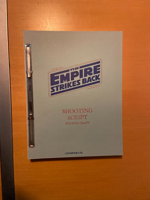 Star Wars - The Empire Strikes Back - Screenplay by Leigh Brackett, Larry Kasdan & George Lucas - 4th Draft Oct 24, 1978 (Shooting Script)
