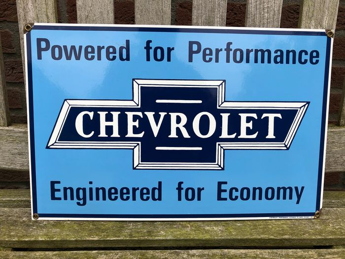 Plakatwand - Ande Rooney, USA 1988 - Chevrolet