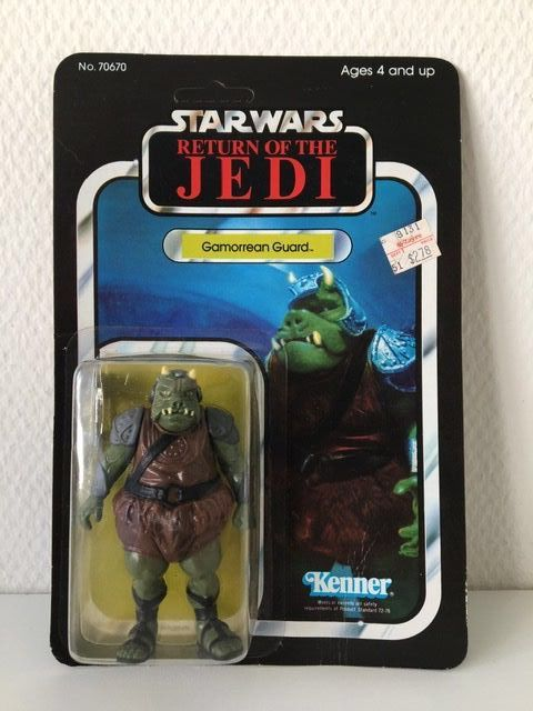 Star Wars - Return of the Jedi - Kenner - Pupazzetto - vintage - 1983 - Gamorrean Guard