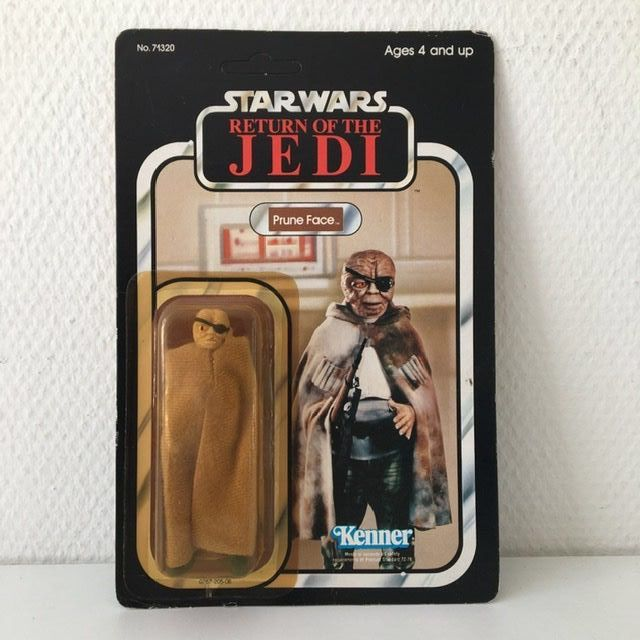Star Wars - Return of the Jedi - Kenner - Pupazzetto vintage - 1984 - Prune Face
