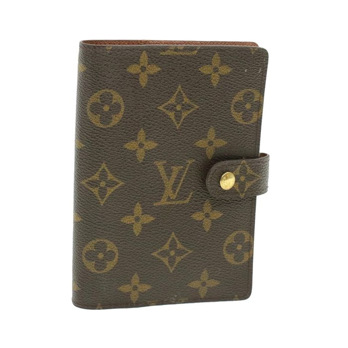Louis Vuitton - LOUIS VUITTON Monogram Agenda PM Day Planner Cover R20005 Day Planner Cover