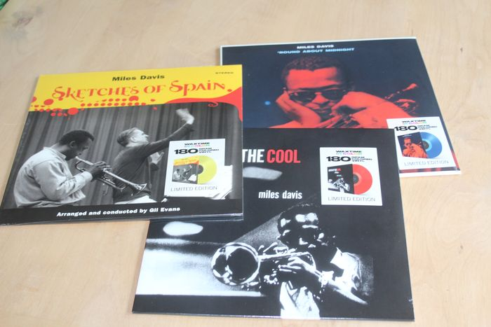 Miles Davis - Birth Of The Cool / Sketches of Spain / Round About Midnight - Diverse Titel - LP's - 2017/2017
