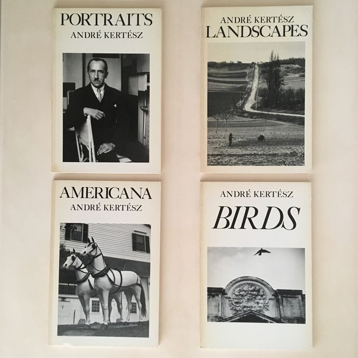 Andre Kertesz - Lot with 4 publications - 1979