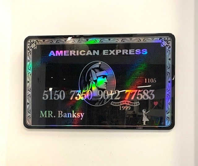 Van Apple - MR. Banksy Hologram Amex