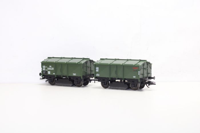Märklin H0 - 46010 - Freight carriage - Double rail grinding wagon, anniversary wagon 10 years of Insider - DB