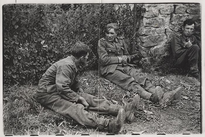 Robert Capa  (1913-1954)/LIFE/SHAEF - German Prisoners After the Fall of St. Sauveur, France, 1944