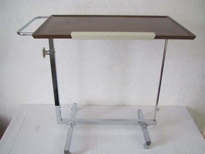 Bremshey / Solingen Ohlige - Multifunctional vintage trolley, for breakfast in bed, reading table and side table