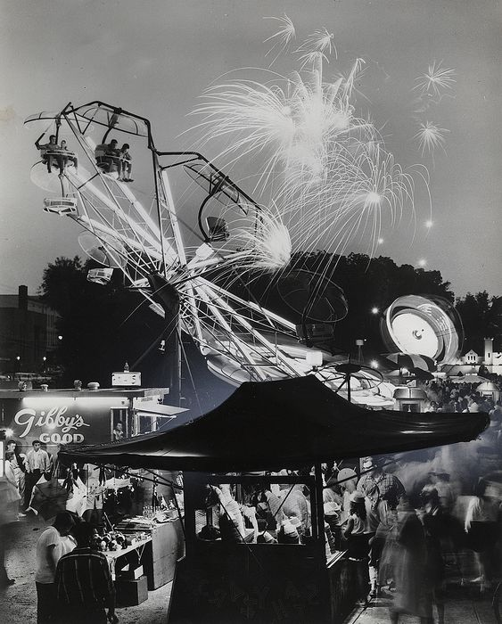Unknown/Michigan Tourist Council - American County Fair at Night, 1963