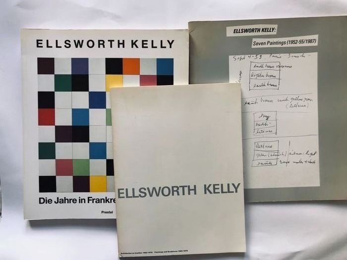Ellsworth Kelly - Lot with 3 books - 1979/1992