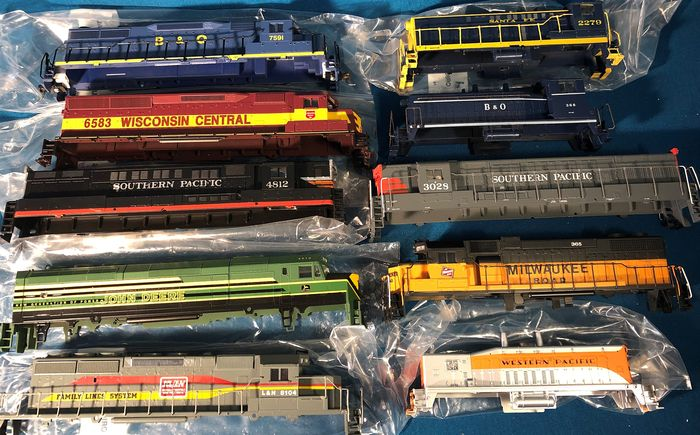 Athearn, Model Power, Bachmann H0 - Toebehoren - Diverse kappen - various US
