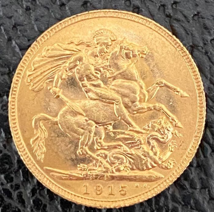 Australia. Sovereign 1915 P