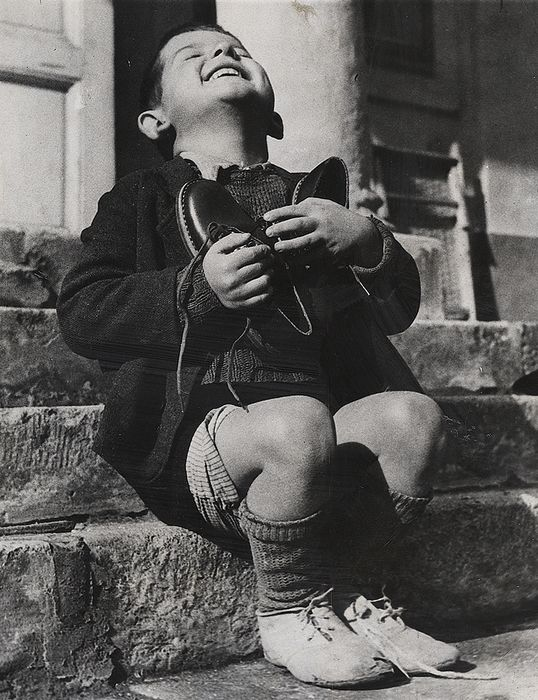 Gerald Waller (XX)/Associated Press - 'New Shoes' (6-Year-Old Austrian Boy Gets New Pair of Shoes), 1946