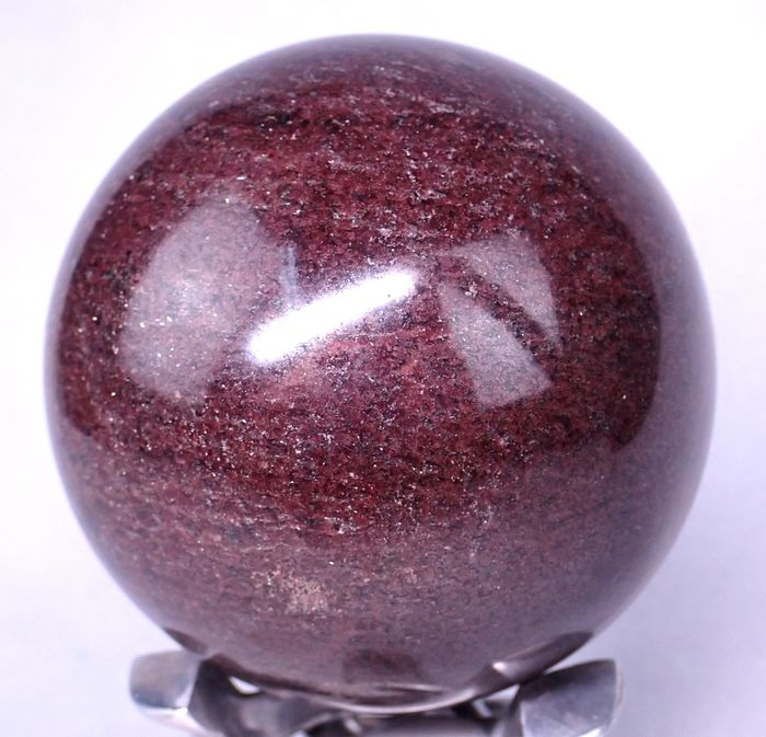 Rare First Quality Deep Red Garnet Sphere - 88.41×88.41×88.41 mm - 1298 g