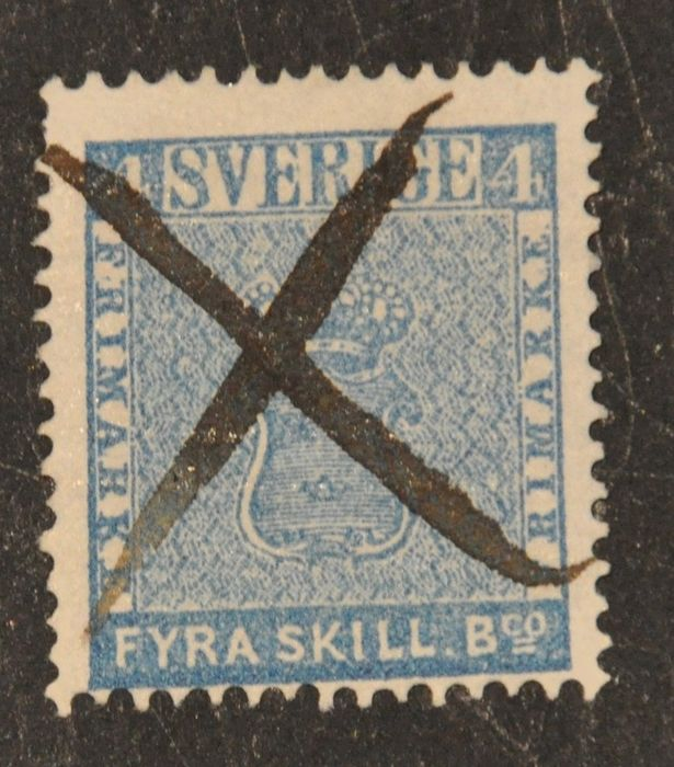Zweden 1955/1858 - Sweden, Coat in Arms, Skill and Öre Bco - Michel 2; 7; 8; 9; 10; 11 and 12