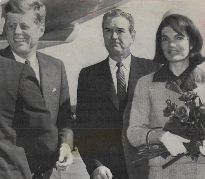 Unknown/The Daily Telegraph - John F. Kennedy, Jackie Kennedy & John Connally on Day of Assassination, 1963