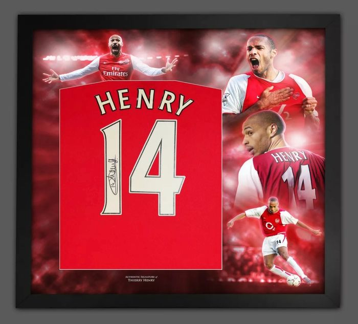 Arsenal - Europese voetbal competitie - Thierry Henry - 2015 - Jersey(s)