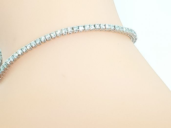 18 karaat Witgoud - Armband - 1.80 ct Diamant